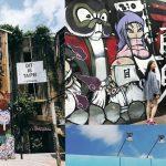 【台北西門站】【西門町美國街】台灣私房打卡景點,要拍穿搭照就要來這!