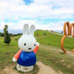 【新北八里】超萌米飛兔miffy定居新北市十三行文化公園,一起來與可愛的米飛兔玩吧!