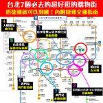 來台北必去的7個超好逛購物街!每個景點搭捷運都能到哦!內附捷運交通指南攻略~