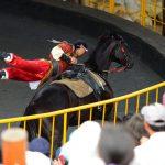 【南投清境農場】來這必看馬術表演!超帥氣~蒙古騎士駿馬上技藝翻騰、賣力演出!