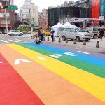 當彩虹灑落在大地-西門町打卡新地標