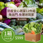 防疫安心蔬菜12件組